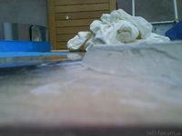Reserveradmuldenausbau Ibiza 6L - Herstellung Abdeckplatte 131
