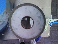 Reserveradmuldenausbau Ibiza 6L - Herstellung Abdeckplatte 132