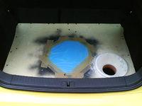 Reserveradmuldenausbau Ibiza 6L - Herstellung Abdeckplatte 143