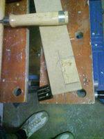 Reserveradmuldenausbau Ibiza 6L - Herstellung Abdeckplatte 14