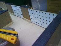 Reserveradmuldenausbau Ibiza 6L - Herstellung Abdeckplatte 151