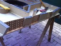 Reserveradmuldenausbau Ibiza 6L - Herstellung Abdeckplatte 152