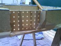 Reserveradmuldenausbau Ibiza 6L - Herstellung Abdeckplatte 153