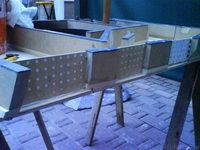 Reserveradmuldenausbau Ibiza 6L - Herstellung Abdeckplatte 157