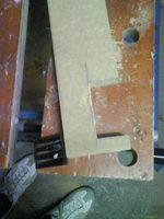 Reserveradmuldenausbau Ibiza 6L - Herstellung Abdeckplatte 15