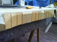 Reserveradmuldenausbau Ibiza 6L - Herstellung Abdeckplatte 164