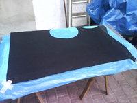 Reserveradmuldenausbau Ibiza 6L - Herstellung Abdeckplatte 165