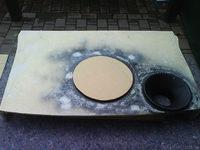 Reserveradmuldenausbau Ibiza 6L - Herstellung Abdeckplatte 167