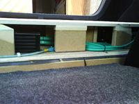 Reserveradmuldenausbau Ibiza 6L - Herstellung Abdeckplatte 26