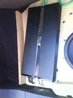 Reserveradmuldenausbau Ibiza 6L - Herstellung Abdeckplatte 2
