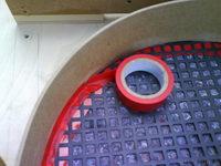 Reserveradmuldenausbau Ibiza 6L - Herstellung Abdeckplatte 44