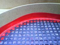 Reserveradmuldenausbau Ibiza 6L - Herstellung Abdeckplatte 46
