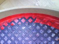 Reserveradmuldenausbau Ibiza 6L - Herstellung Abdeckplatte 47