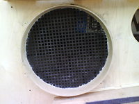 Reserveradmuldenausbau Ibiza 6L - Herstellung Abdeckplatte 56