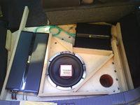 Reserveradmuldenausbau Ibiza 6L - Herstellung Abdeckplatte 5