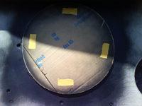 Reserveradmuldenausbau Ibiza 6L - Herstellung Abdeckplatte 64