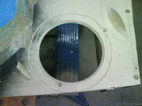 Reserveradmuldenausbau Ibiza 6L - Herstellung Abdeckplatte 95