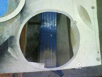 Reserveradmuldenausbau Ibiza 6L - Herstellung Abdeckplatte 96