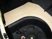 Reserveradmuldenausbau Ibiza 6L - Herstellung Basisplatte 18