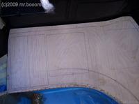 Reserveradmuldenausbau Ibiza 6L - Herstellung Basisplatte 23