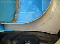 Reserveradmuldenausbau Ibiza 6L - Herstellung Basisplatte 26