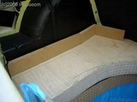 Reserveradmuldenausbau Ibiza 6L - Herstellung Basisplatte 29