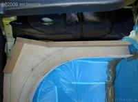 Reserveradmuldenausbau Ibiza 6L - Herstellung Basisplatte 31