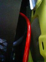 Reserveradmuldenausbau Ibiza 6L - Kabelage 15