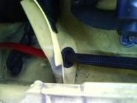 Reserveradmuldenausbau Ibiza 6L - Kabelage 4