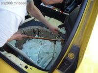 Reserveradmuldenausbau Ibiza 6L - Laminierung - Entformen 1