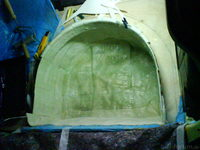 Reserveradmuldenausbau Ibiza 6L - Laminierung V2 - Grundform 22