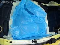 Reserveradmuldenausbau Ibiza 6L - Laminierung V2 - Grundform 8