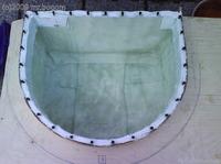 Reserveradmuldenausbau Ibiza 6L - Laminierung V2 - Mittelplattenbefestigung 9