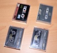 Pioneer D-500 Cassetten