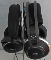 AKG812 u Sony MA900 S red