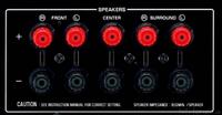 Speaker Anschlüsse
