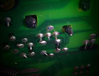 kalte Lötstelle KRF-X9050D Infrarotempfänger