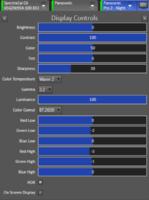 Display Controls HDR Nacht