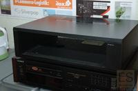 Sony CDP-101 Woodcase (schwarz)