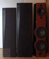 Sony ES Boxen-Trio aus den 1990ern: SS-F60ES, SS-F80ES, SS-R70