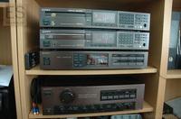 Sony ES Magenta: TA-F555ES, ST-S555ES, CDP-502ES, CDP-650ESD