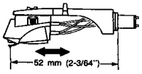 technic 1210MK2 Ueberhang