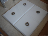 deckensegel bauen basotect verkleben raum optimieren. Black Bedroom Furniture Sets. Home Design Ideas