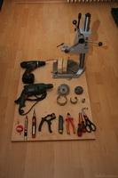 Umbau Teufel Motiv 6: Verwendetes Werkzeug