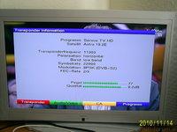 Pegelwerte Servus TV HD