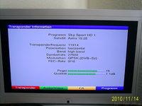 Pegelwerte Sky Sport1 HD