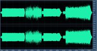 4 Titel: Pegel / Lautheit vor der Anpassung durch MP3gain