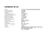 T+A Criterion TB 140