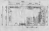 Wohnzimmer Plan für Heimkinoanlage