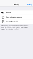 AirPlay auf iOS